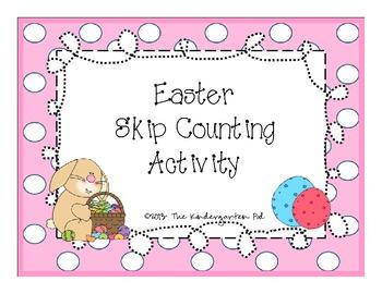 Easter Skip Counting FREEBIE!