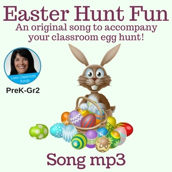 "Easter Song mp3 - ""Easter Hunt Fun"" Singing Game by Lisa Gillam"