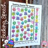 Easter Speech Therapy Seeking Activity {articulation}