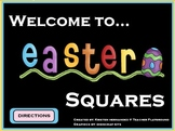 Easter Squares ActivInspire Game Template (Hollywood Squares)