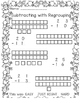 Easter Subtraction WITH Regrouping (Easy Level)