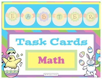Easter Task Cards-Math