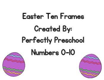 Easter Ten Frames {Dollar Deal}