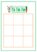 Easter Tic-Tac-Toe Game Board
