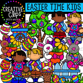 Easter Time Kids {Creative Clips Digital Clipart}
