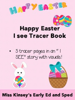 """Easter Tracer """"I See"""" book"""