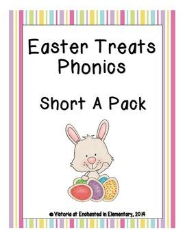 Easter Treats Phonics: Short A Pack