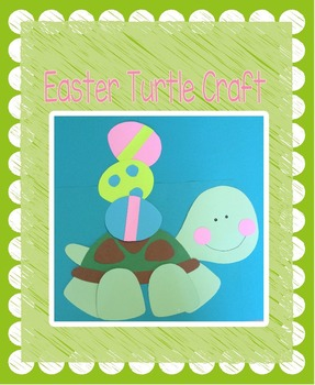 Easter Turtle Craft
