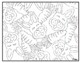 Easter Visual Arts Coloring Pages Highly Detailed