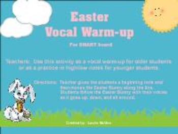 Easter Vocal Warm-up
