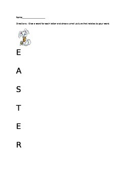 Easter Word Fun