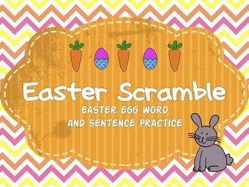 Easter Word Scrambles