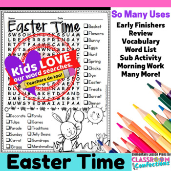 Easter Activity: Easter Word Search