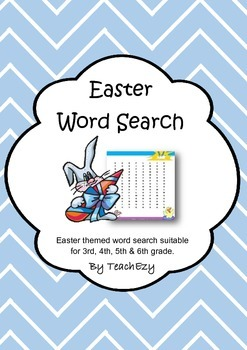 Easter Word Search Easy