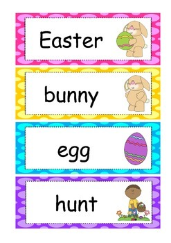 Easter Word Wall