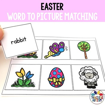 Easter Word to Picture Matching