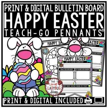 Easter Writing Activity Poster Pennant