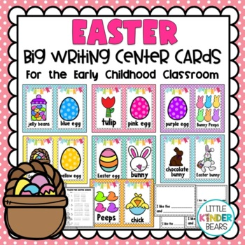 Easter Writing Center Cards