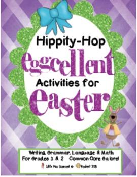 Easter Writing, Grammar, & Math  EGGcellent Activities For