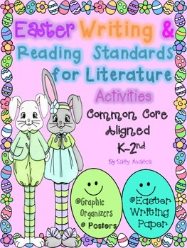 Easter Writing & Close Reading Response, Common Core, Spri