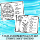Easter and Spring Color by Feeling Printables - Emotions -