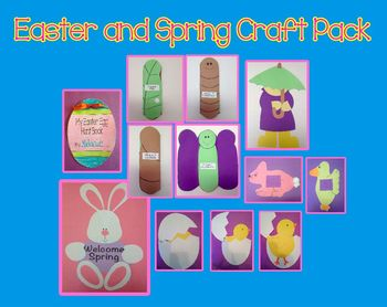 Easter and Spring Craft Pack Combo