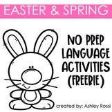Easter and Spring No Prep Language FREE