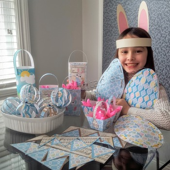 Easter craft for kids SUPER SALE pack and FREE coloring pa