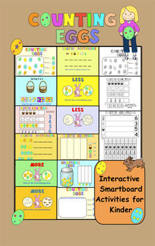Easter for Kinders:  Interactive Smartboard Activities and