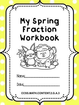 Easter Fractions Printable Workbook