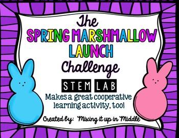 STEM Lab:  Spring Challenge-Easter Marshmallow Launcher/Catapult