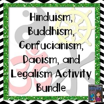 Eastern Religions/Philosophies Bundle {Hinduism,Buddhism,C