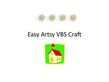 Easy Artsy VBS Craft