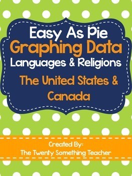 Graphing Data of Languages & Religions of the United State