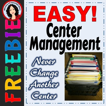 Easy Center Management, No Changing Centers, Organize and