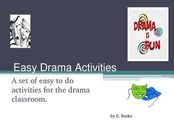 Easy Drama Activities