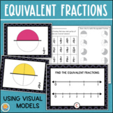 Equivalent Fractions Math Center