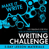 Writing Competition – Great Feedback w/NO GRADING for You!