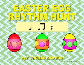 Easy Kodaly Easter Egg Hunt: Ta, Ti-ti, Rest