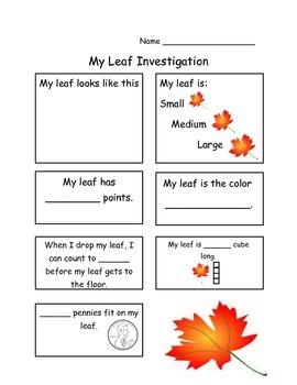 Easy Leaf Investigation