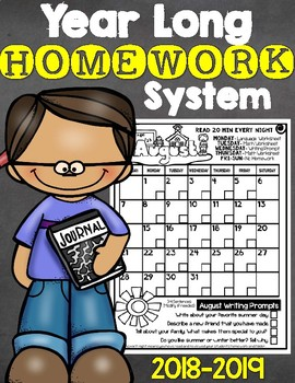Easy Prep Year Long Homework System