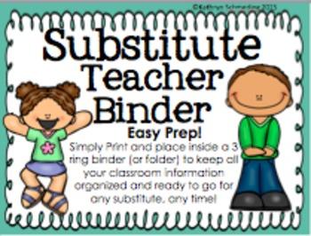 Easy Prep Substitute Binder Kit
