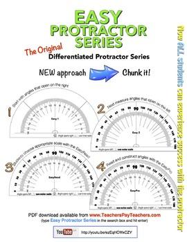 Easy Protractor Series - the original differentiated protr