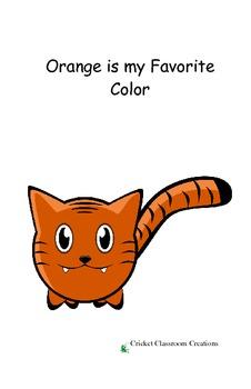 Easy Reader: Color Words - Orange