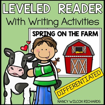 Easy Reader: Farm Animals in Spring (3 Different Levels fo