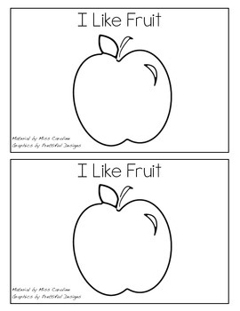 Easy Reader- Fruit