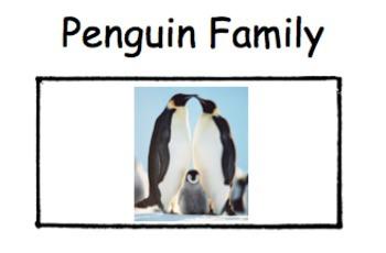 Emergent Reader - Penguin Family