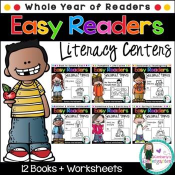 Easy Readers MEGA PACK! Ten Emergent Readers on Holidays &