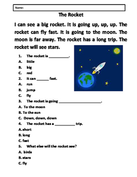 Easy Reading Comprehension Passages (5 Passages)