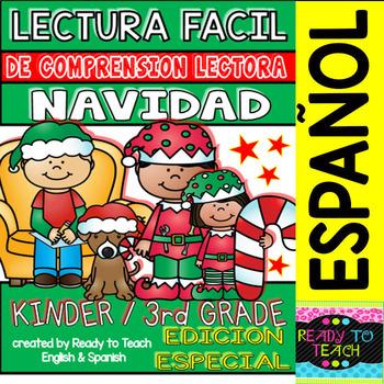 Easy Reading for Reading Comprehension in Spanish - NAVIDAD